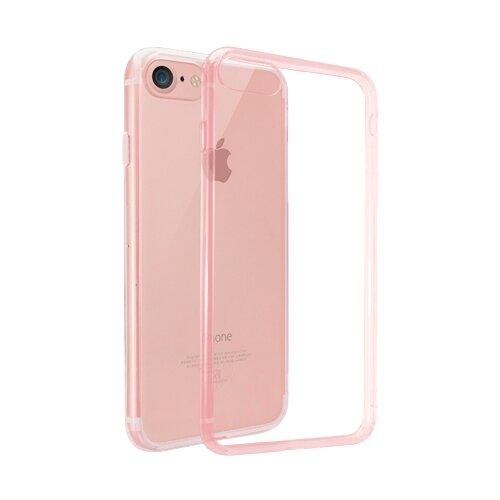 Купить Чехол Ozaki OC739 для Apple iPhone 7/iPhone 8 прозрачный/розовый
