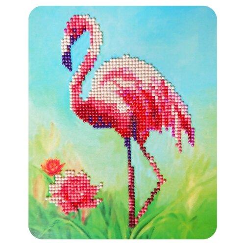 Color Kit Набор алмазной вышивки Розовый фламинго (M013) 17х21 смАлмазная вышивка<br>