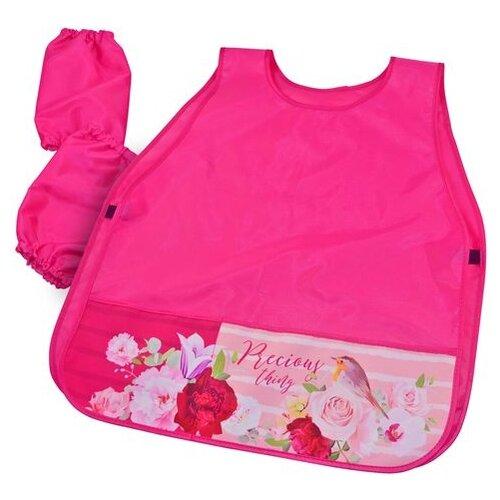 Купить BG фартук-накидка с нарукавниками Pink dream (ФНТ_пэ 4441) розовый, Одежда для уроков труда