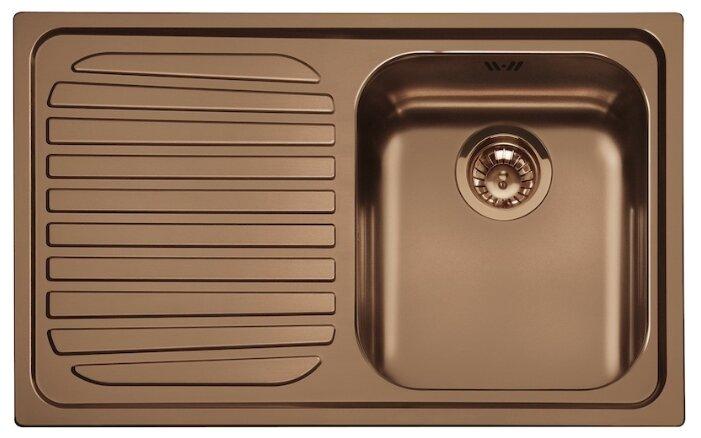 Врезная кухонная мойка smeg SP791S 79х50см нержавеющая сталь