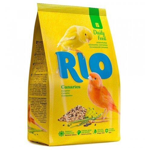 RIO корм Daily feed для канареек 1000 г rio корм daily feed для крупных попугаев 500 г