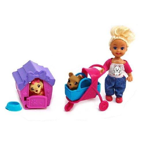 цена на Кукла Tongde с двумя питомцами, K080190