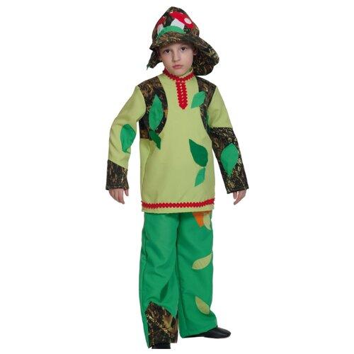 Купить Костюм КарнавалOFF Леший-Лесовик (5030), коричневый/зеленый, размер 128-134, Карнавальные костюмы