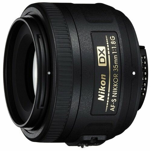 Фото - Объектив Nikon 35mm f/1.8G AF-S DX Nikkor объектив