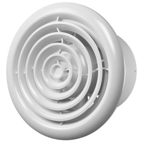 Вытяжной вентилятор ERA FLOW 5 BB, white 18 Вт вытяжной вентилятор supra vs 1614r white blue