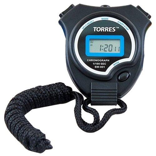 Электронный секундомер TORRES SW-001 черный/синий