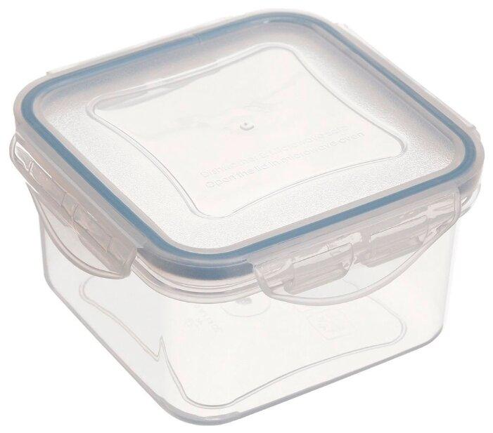 Tescoma Контейнер Freshbox 0.7 л квадратный голубой/прозрачный