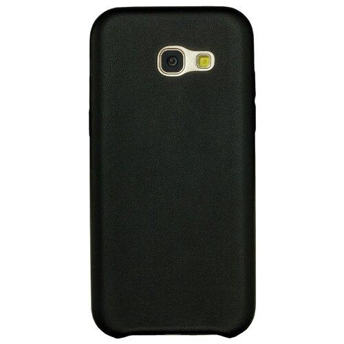 Чехол G-Case Slim Premium для Samsung Galaxy A5 (2017) SM-A520F (накладка) черный чехол для сотового телефона celly air case для samsung galaxy a5 2017 air645bkcp черный
