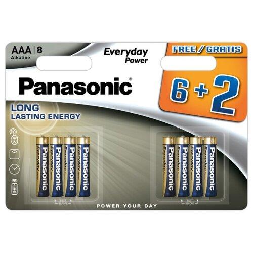 Фото - Батарейка Panasonic Everyday Power AAA/LR03, 8 шт. батарейка panasonic evolta aaa lr03 4 шт