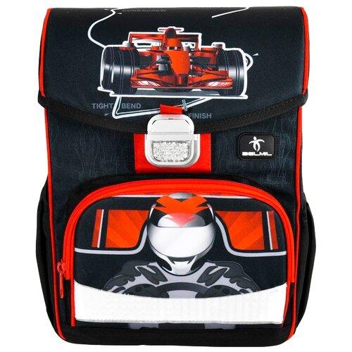 Купить Belmil Ранец Click - 4Speed (405-45/768) черный/красный, Рюкзаки, ранцы
