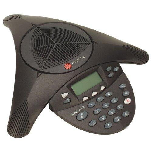Конференц-телефон Polycom SoundStation2 with lcd (2200-16000-122)