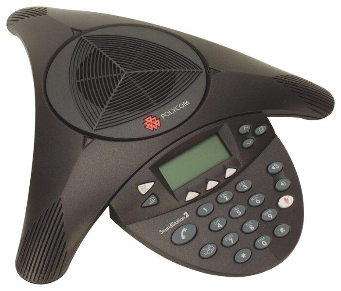 Оборудование для аудио- и видеоконференций Аудиоконференция Polycom SoundStation 2W (2200-07880-102)