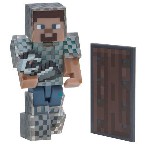 Купить Игровой набор Jazwares Minecraft Стив в кольчуге 16493, Игровые наборы и фигурки