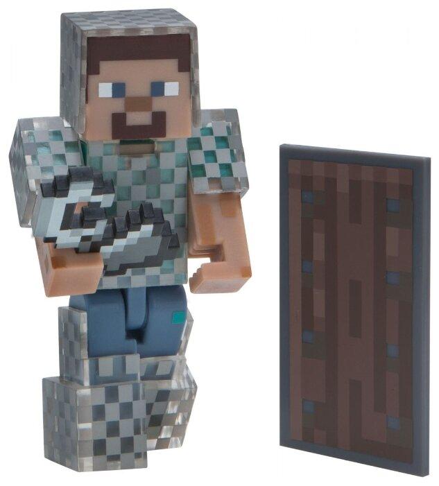 Игровой набор Jazwares Minecraft Стив в кольчуге 16493