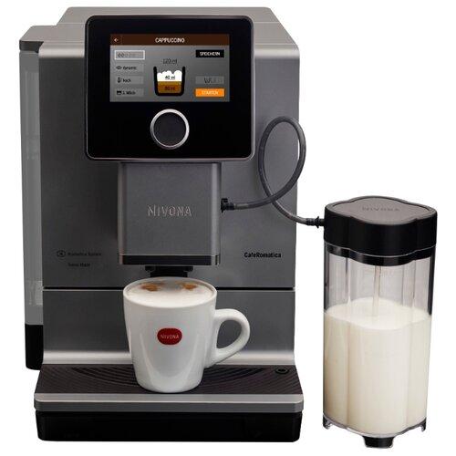 цена на Кофемашина Nivona CafeRomatica 970 серебристый