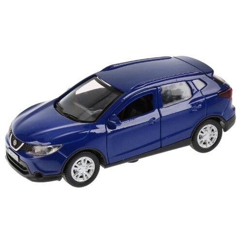 Купить Легковой автомобиль ТЕХНОПАРК Nissan Qashqai (QASHQAI-GD/BU/GY) 1:36 12 см синий, Машинки и техника