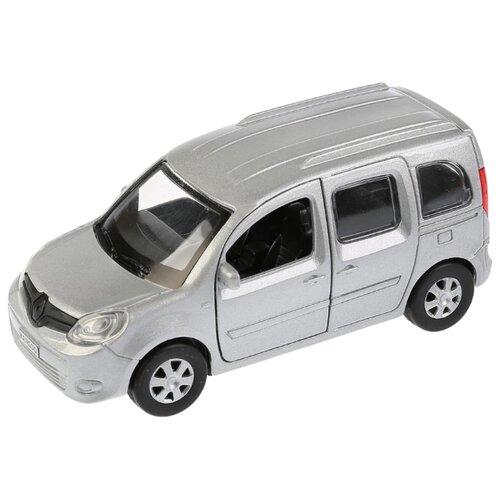 Легковой автомобиль ТЕХНОПАРК Renault Kangoo (KANGOO-SL/BK/RD) 12 см серебристый внедорожник технопарк renault koleos koleos bu gn sl bk 12 см черный