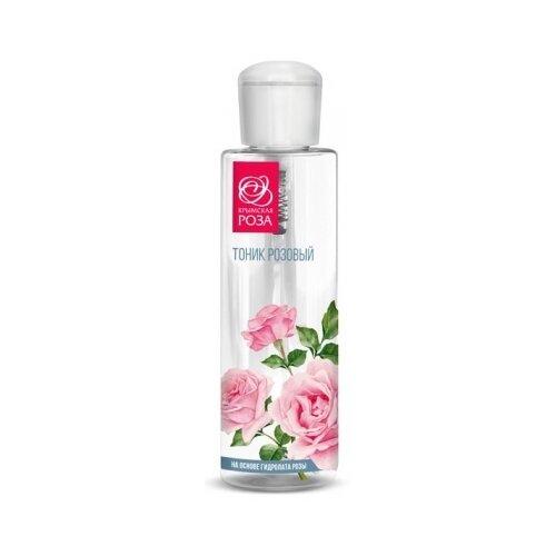 Крымская роза Тоник Розовый на основе гидролата розы, 110 мл