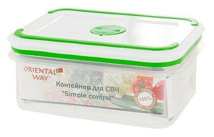 Oriental Way Контейнер прямоугольный для СВЧ NeoWay Simple Control GL9013