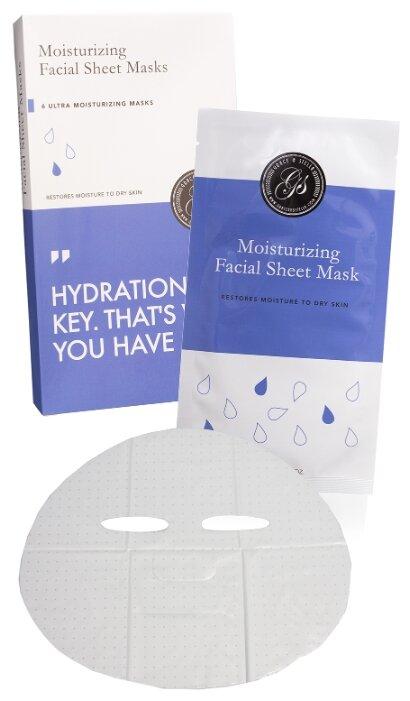 Grace & Stella Маска тканевая увлажняющая для лица Moisrurizing Facial Sheet Masks