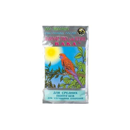 Витамины Вака для средних попугаев для улучшения оперения 30 г