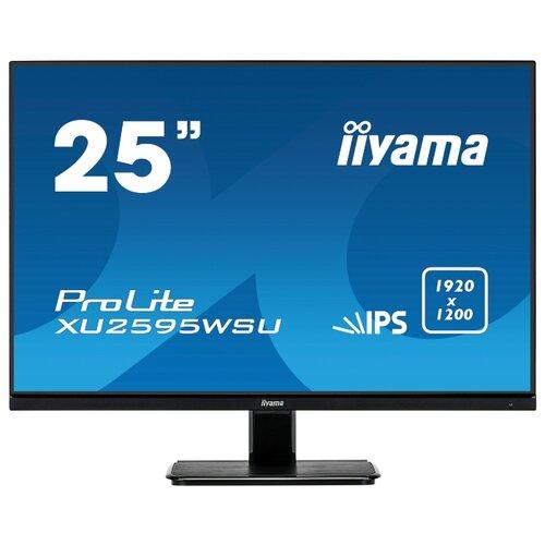 Монитор Iiyama ProLite XU2595WSU-B1 25 черный монитор iiyama prolite xub2495wsu b1 24 1 черный