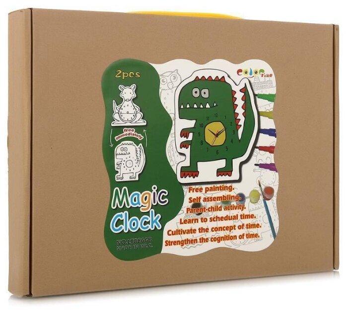 BRADEX Набор для творчества Часы своими руками Крокодил и динозавр (DE 0167)