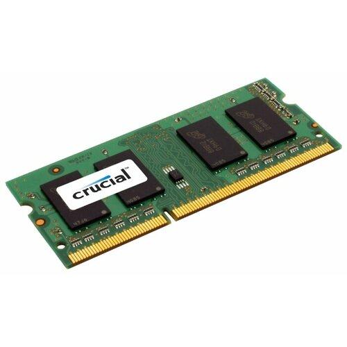 Купить Оперативная память Crucial DDR3L 1600 (PC 12800) SODIMM 204 pin, 8 ГБ 1 шт. 1.35 В, CL 11, CT102464BF160B