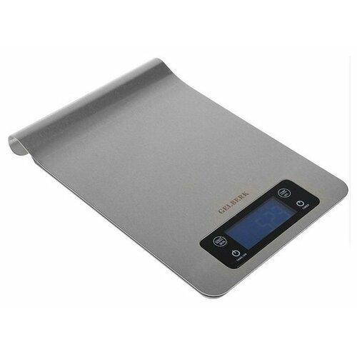 Кухонные весы Gelberk GL-252 серебристый