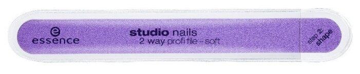 Essence Пилка для придания формы и полировки Studio Nails 2 way profi file