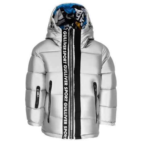 Купить Куртка Gulliver 219FBC4103 размер 98, серебряный, Куртки и пуховики