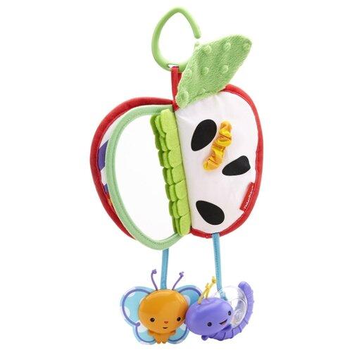 Купить Подвесная игрушка Fisher-Price Яблочко (DFP88) белый/зеленый/красный, Подвески