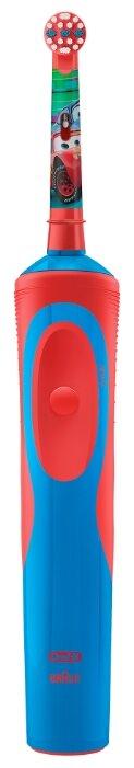 Электрическая зубная щетка Oral-B Stages Power Тачки D12.513K + зубная паста