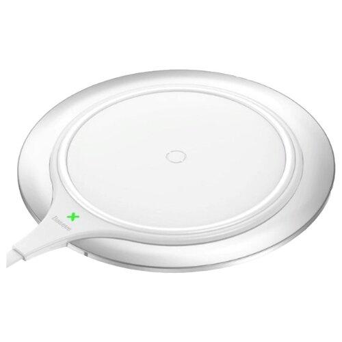 Сетевая зарядка Baseus Metal Wireless Charger белыйЗарядные устройства и адаптеры<br>