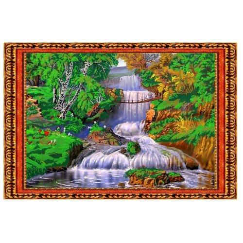 Светлица Набор для вышивания бисером Водопад 59,7 x 40,3 см, бисер Чехия (100)