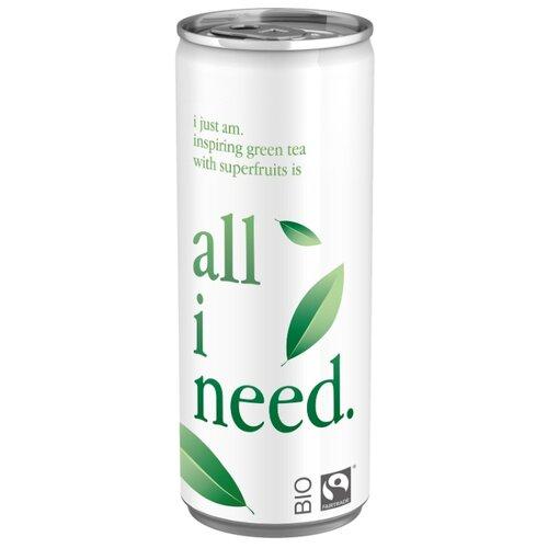 Чай All i need Зеленый, банка, 0.25 лХолодный чай<br>