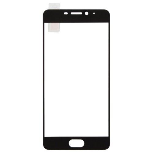 Защитное стекло Liberty Project Tempered Glass с рамкой для Meizu Melian M5 Note черныйЗащитные пленки и стекла<br>