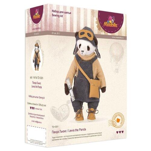 Купить Miadolla Набор по изготовлению игрушки Панда Льюис (TD-0301), Изготовление кукол и игрушек
