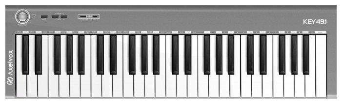 MIDI-клавиатура Axelvox KEY49j