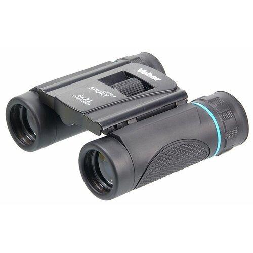 Фото - Бинокль Veber Ultra Sport БН 8x21 черный адаптер для биноклей veber rp4