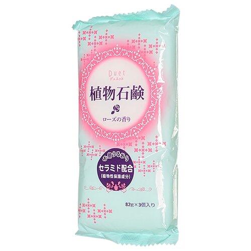 Мыло кусковое DAIICHI SEKKEN Duet натуральное увлажняющее с ароматом розы 246 гМыло<br>