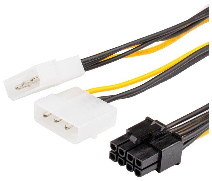 Кабель сетевой (электропитания) для компьютера (1,4 м, евровилка, черный). (FIX CABLE)