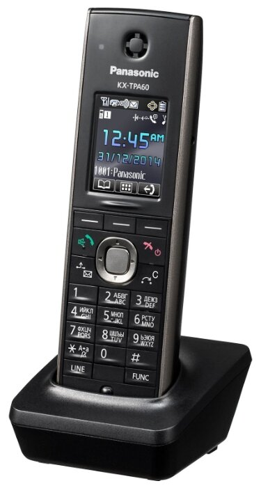 Трубка Panasonic kx-tpa60rub черный