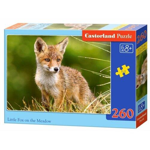 Купить Пазл Castorland Little Fox on the Meadow (B-27354), 260 дет., Пазлы