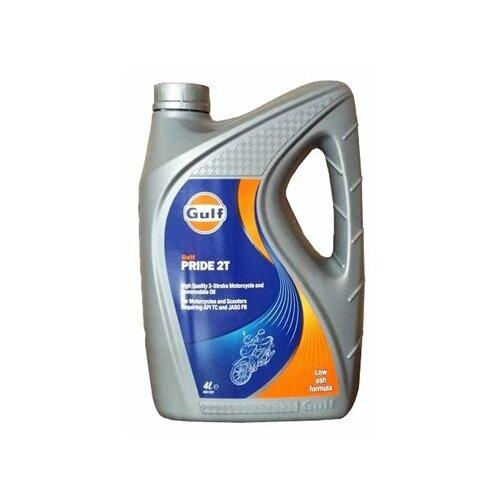 Моторное масло Gulf Pride 2T 4 л моторное масло gulf multi g 20w 50 4 л
