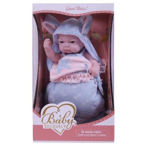 Пупс Baby So Lovely, 25 см, 1904-2 пупс junfa toys baby so lovely 30 см 1917 2