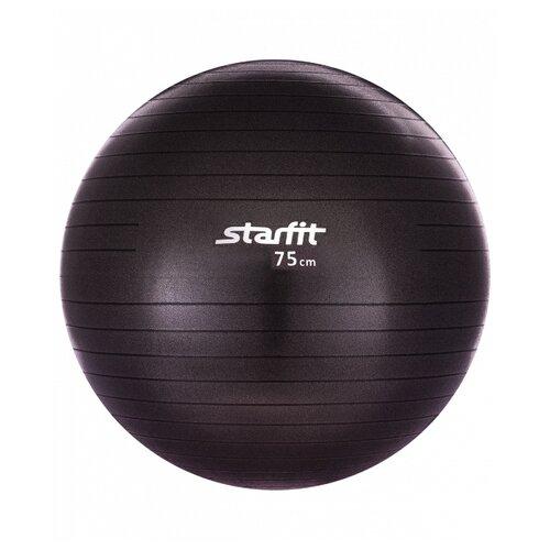 Фитбол Starfit GB-101, 75 см черный