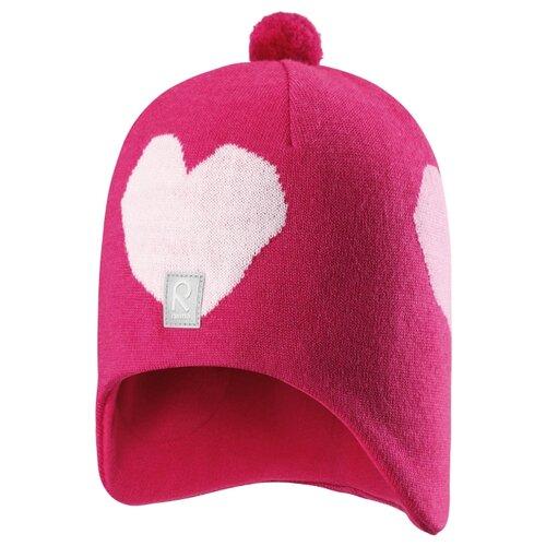 Шапка-бини Reima размер 52, розовыйГоловные уборы<br>