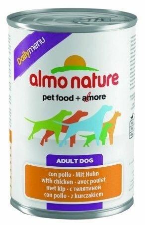 Корм для собак Almo Nature Daily Menu курица 24шт. х 400г