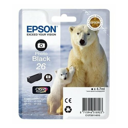 Купить Картридж Epson C13T26114010